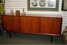 Vintage Wood Credenza/ Cabinet/ Cupboard