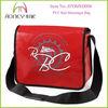 Red PVC Waterproof Messenger Bags Men