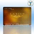 Pvc tarjeta vip- producción de la fábrica