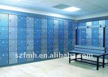 fireproof compact hpl antique locker 4 compartment locker