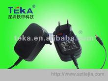 Factory price advantage EU plug 12V 2A travel adapter plug korea