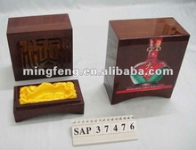 solid rubber wood Wine box 2014 classic-high end piano lacquering