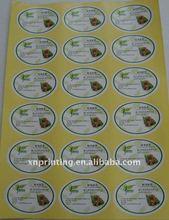 splendid color vegetable label