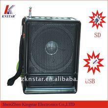 NS-018U portable mini speaker with fm radio