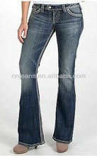 guangzhou promotion fashion mixed jeans stocklot in 2012