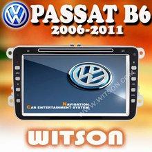 WITSON VOLKSWAGEN PASSAT VW CAR GPS NAVIGATION with Steering Wheel Control