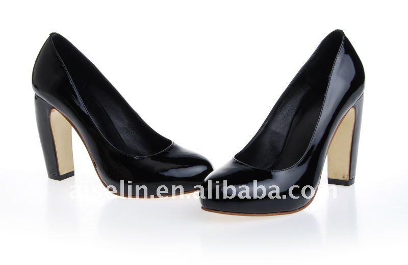 Dança abastecimento sapato de salto baixo por Paypal navio da gota grande pés calçados mulheres