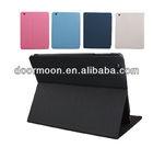 Fashion 360 rotation slim genuine leather case for ipad 2
