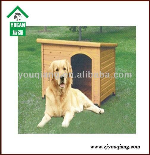 سقف مسطح الخشب وبيت الكلب كلب بيت الكلب مع القدمين القابلة للتعديل