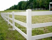 pvc farm fence