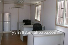 2012 china cheapest modular shipping 20ft container office