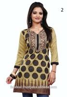 Online Shopping For Wholesale Clothing   Cotton Kurta Neck Designs