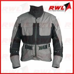 Custom high quality Men Motorbike good Textile airbag Jacket motorcycle cordura jacket for auto racing