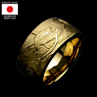 Handmade and Luxury japanese jewelry gold ring at reasonable prices , small lot order available