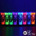 Uv brilho de néon rosto e corpo de tinta fluorescente- super brilhante