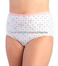 Heavy gsm fabric womens briefs,panties