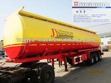 factory tongya tri-axle fuel tanker semi trailer