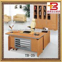 TB-25 L shape,Golden Oak Clerical Table
