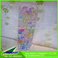 la decoración de san valentín de cristal bola de agua del suelo para la flor fresca de gel