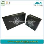wholesale cusom size and design gift cigar hard cardboard box