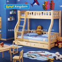 Wooden Bunk School Home Bed