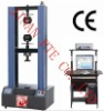 WDW-100 Computer Control Electromechanical Universal Rubber and Steel Tensile Testing Machine
