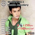 Noproblem P048 Ion power health titanium magnetic balance necklace
