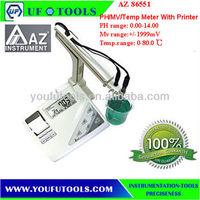 AZ 86551 Benchtop Water Quality Meters\PH /MV/ Temp With Printer Meter