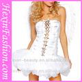 2014 con alas de ángel, las mujeres sexy vestido de hadas