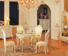 antique white dining room furniture sets luxury furniture - Baroque style dining room set