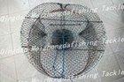 foldable galvanized crab trap