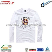 latest fashion white long sleeve t shirts designs for men 2012