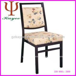 high grade fabric metal chair banquet chair in metal furniture