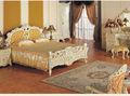 meubles classiques de chambre à coucher - meubles baroques de chambre à coucher en bois plein