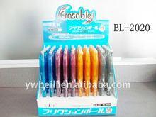 Beili promotion plastic erasable ball point pen