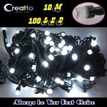 Wholesale Waterproof 10M 100 bulbs LED String light Wedding Christmas Lighting