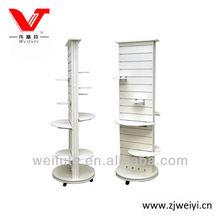 Stylish movable display shelf