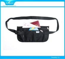 13524 Travel Security RFID blocking Waist Money Belt