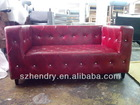 modern stylish leather sofa RSA-2004