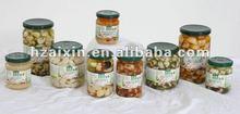 Garlic Cloves In Brine In Glass Jar