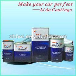 Metallic Colors Car Paint White