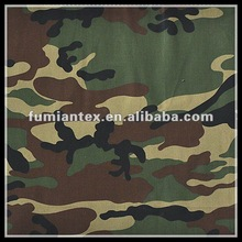 """Poly/cotton 65/35 3/1 200GSM 58/59"""" camouflage twill fabric"""