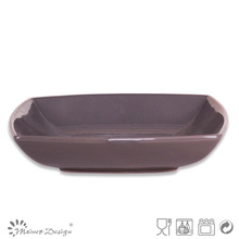 eco ceramic soup plate square stoneware plate for soup soup plate