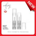nouveau et unique transparent tube baume pour les lèvres