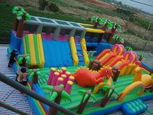 inflatable dragon city, inflatable fun city FN015