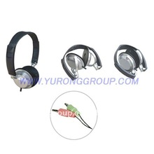 2012 stereo headphones /infrared cordless stereo headphone