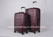 wine red trolley cases