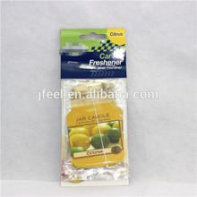 custom make hanging paper car air freshener