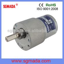 high torque low rpm 12V 24V 37mm dc gear motor