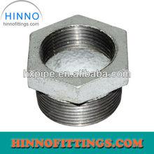 Galvanised cast iron pipe reducing bushing 241